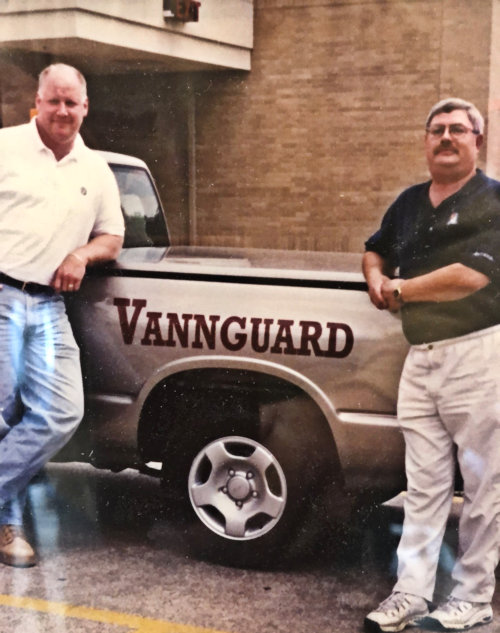 vannguard founders with truck